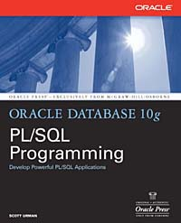 Oracle Database 10g PL/SQL Programming Издательство: McGraw-Hill Osborne Media, 2004 г Мягкая обложка, 896 стр ISBN 0072230665 инфо 7471d.